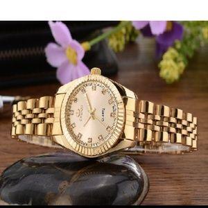 CHENXI Luxury Ladies Gold Watch